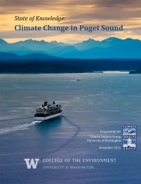 Cover photo of the State of Knowledge: Climate Change in Puget Sound report